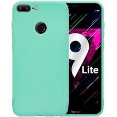 Силиконовый чехол iNavi Color Huawei Honor 9 Lite (Бирюзовый)