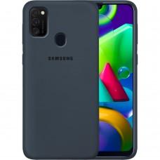 Силикон Original Case Samsung Galaxy M21 (2020) (Тёмно-серый)