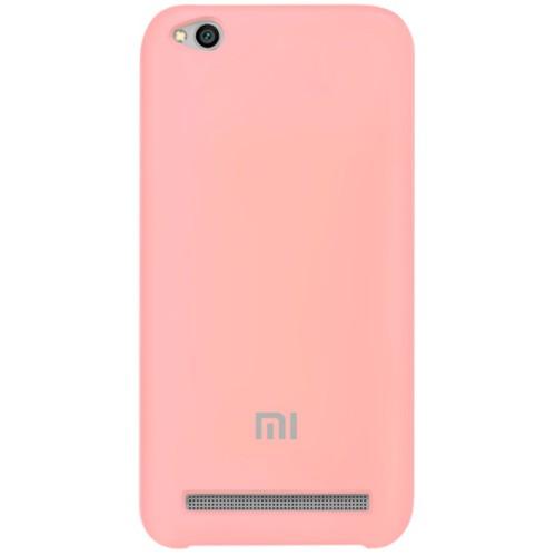 Силикон Original Case Xiaomi Redmi 5a (Розовый)