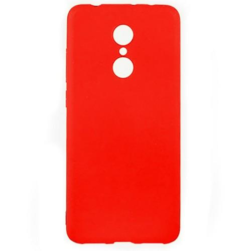 Силиконовый чехол Multicolor Xiaomi Redmi 5 Plus (красный)