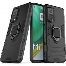Бронь-чехол Ring Armor Case Xiaomi Mi 10T / Mi 10T Pro (Чёрный)