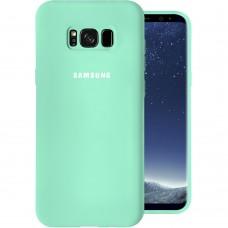 Силикон Original Case Samsung Galaxy S8 Plus (Бирюзовый)