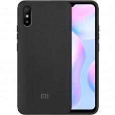 Силикон Original Case Xiaomi Redmi 9A (Чёрный)