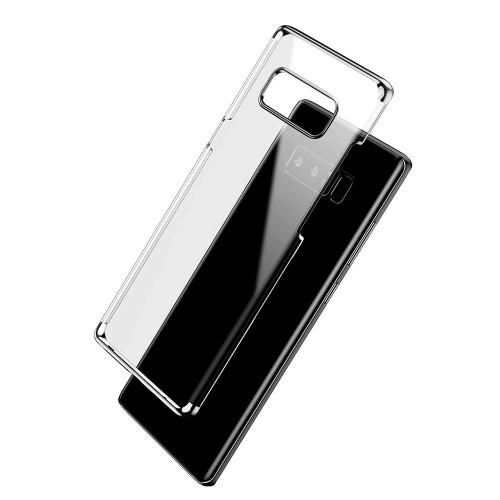Силиконовый чехол UMKU Line Samsung Galaxy Note 8 (чёрный)