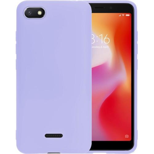 Силикон iNavi Color Xiaomi Redmi 6A (фиолетовый)