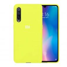 Силикон Original Case Xiaomi Mi9 (Лимонный)