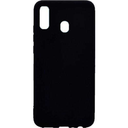 Силикон Graphite Samsung Galaxy A30 (2019) (чёрный)