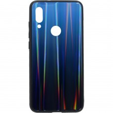 Накладка Gradient Glass Case Xiaomi Redmi 7 (Синий)