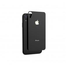 5D Стекло Apple iPhone XR Black (на заднюю сторону)