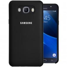 Силикон Original Case Samsung Galaxy J7 (2016) J710 (Чёрный)