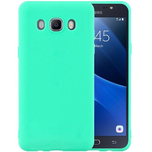 Силиконовый чехол iNavi Color Samsung Galaxy J7 (2016) J710 (Бирюзовый)