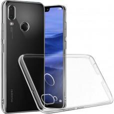 Силиконовый чехол WS Huawei P20 Lite (прозрачный)