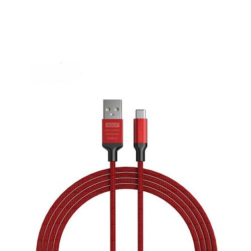 USB-кабель Golf GC-52t (Type-C) (красный)