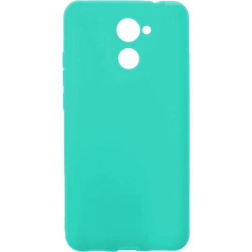 Силиконовый чехол SMTT Huawei Y7 2017 (Бирюзовый)
