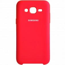 Силикон Original Case Samsung Galaxy J5 (2015) J500 (Красный)
