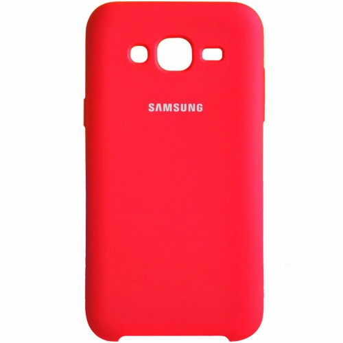 Силикон Original Case Samsung Galaxy J5 (2015) J500 (Красный)