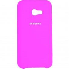 Силиконовый чехол Original Case Samsung Galaxy A7 (2017) A720 (Розовый)