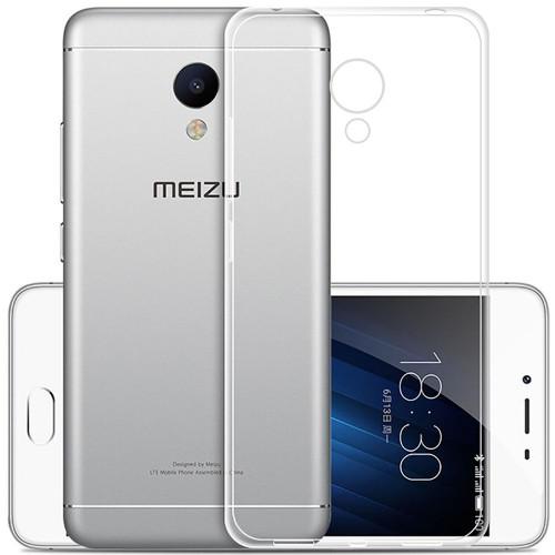 Силиконовый чехол UltraThin Meizu M5 (прозрачный)