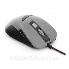 мышь проводная USB Mouse Omega Warr OM 270 Gaming (Серый)