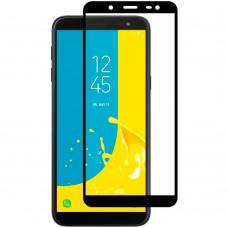 Защитное стекло для Samsung Galaxy J6 (2018) J600 Black