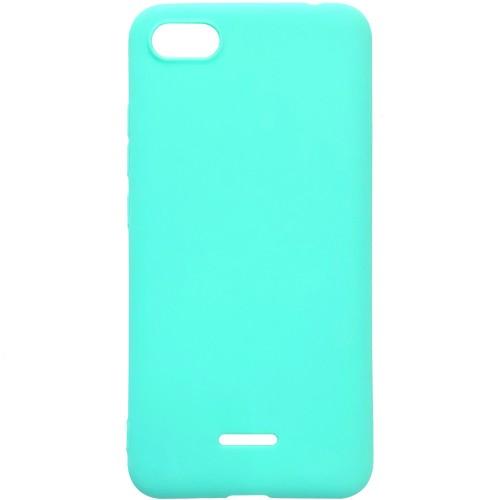 Силиконовый чехол iNavi Color Xiaomi Redmi 6A (Бирюзовый)