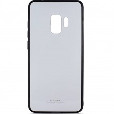 Накладка Glass Case Samsung Galaxy S9 (белый)
