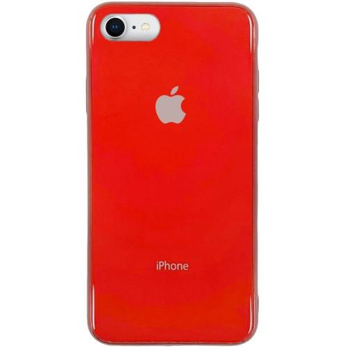 Накладка Premium Glass Case Apple iPhone 6 / 6s (Красный)