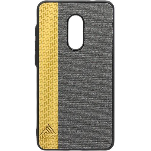 Силиконовый чехол Inavi Xiaomi Redmi Note 4x (золотой)