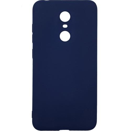 Силиконовый чехол Multicolor Xiaomi Redmi 5 Plus (синий)