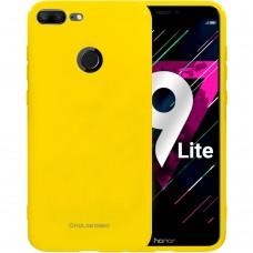 Силиконовый чехол Molan Shining Huawei Honor 9 Lite (Жёлтый)