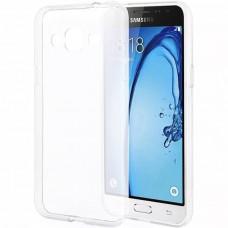 Силикон WS Samsung Galaxy J1 (2016) J120 (Белый матовый)