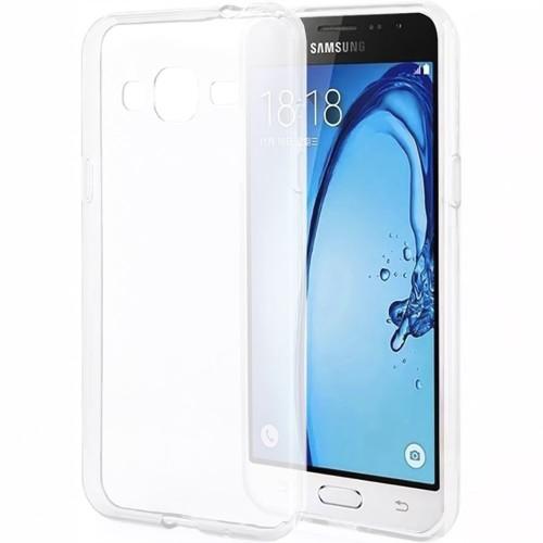 Силиконовый чехол WS Samsung Galaxy J1 (2016) J120 (Белый матовый)