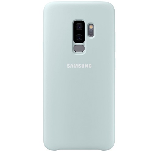 Чехол Original Silicone Case Samsung Galaxy S9 Plus (Mint)