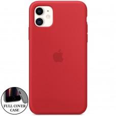 Силикон Original Round Case Apple iPhone 11 (05) Product RED
