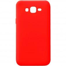 Силикон iNavi Color Samsung Galaxy J7 (2015) J700 (красный)