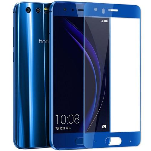 Стекло 5D Huawei Honor 9 Blue