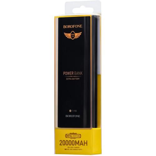 PowerBank Borofone BT19B 20000mAh (Чёрный)