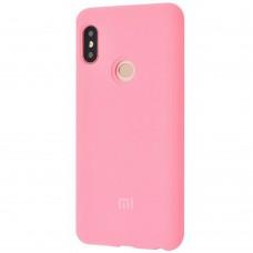 Силикон Original Case Xiaomi Mi6x / Mi A2 (Розовый)