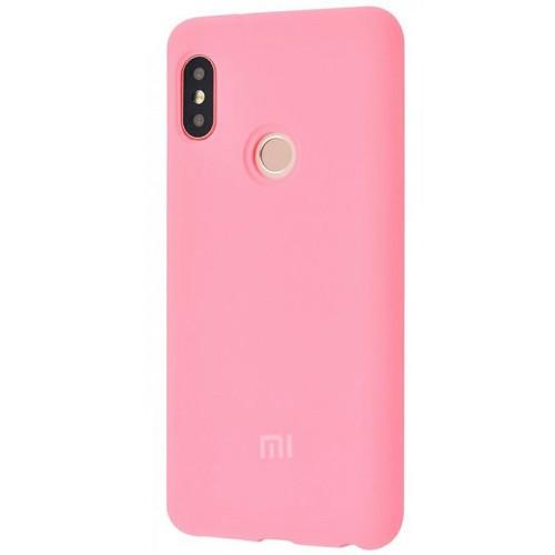 Силиконовый чехол Original Case Xiaomi Mi6x / Mi A2 (Розовый)