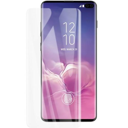 Стекло 5D UV Glue Samsung Galaxy S10 Plus (Clear)