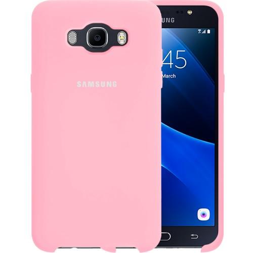 Силикон Original Case Samsung Galaxy J7 (2016) J710 (Розовый)