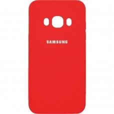 Силиконовый чехол Original Case Samsung Galaxy J7 (2016) J710 (Красный)