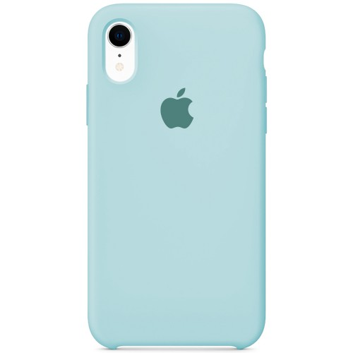 Силиконовый чехол Original Case Apple iPhone XR (21) Turqouise