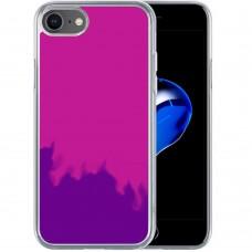 Чехол Aquarium Color Sand Apple iPhone 7 / 8 / SE (2020) (Фиолетовый)