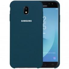 Силикон Original Case Samsung Galaxy J5 (2017) J530 (Сине-зелёный)