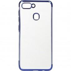 Силиконовый чехол UMKU Line Huawei Honor 9 Lite (Синий)
