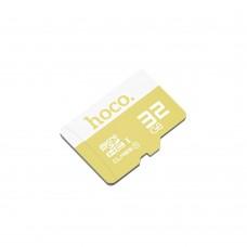 Карта памяти Hoco MicroSDHC 32Gb (желтый)