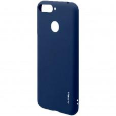 Силикон iNavi Color Huawei Y6 (2019) / Honor 8A (тёмно-синий)