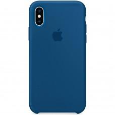 Чехол Silicone Case Apple iPhone X / XS (Pacific Green)
