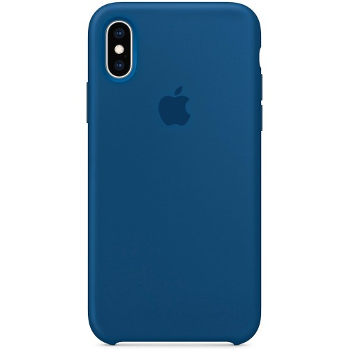 Чехол Silicone Case Apple iPhone X / XS (Pacific Green)